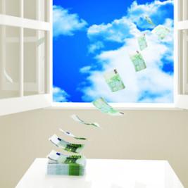 Geld verpulvern