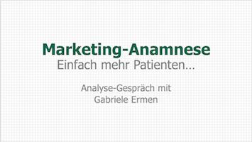 Marketing-Anamnese