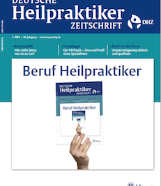 """In der Zeitschrift DHZ 01/21 erschien mein Artikel """"Zusatzerwerb für Heilpraktiker"""""""